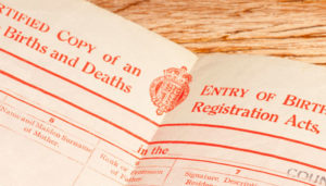 Order a Replacement Birth Certificate UK